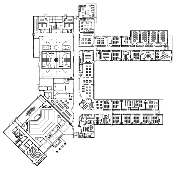 8 High School Floor Plan Kelly Braun Design